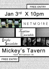 MIckey's with Tontine and Netmoire